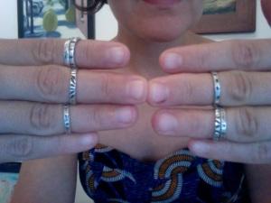 Mini rings!